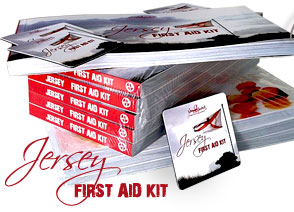 photo book JERsey - first aid kit